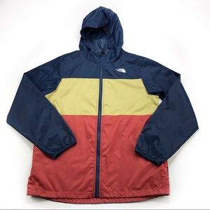 The North Face Color Hooded windbreaker